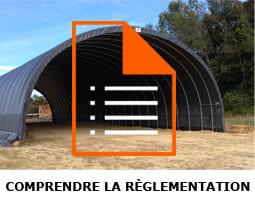reglementation tunnel stockage